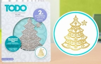 TODO Hot Foil Press 20990 Decorative Christmas Tree
