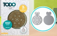 TODO Die Template 370366 Set Timeless Bauble