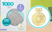 TODO Hot Foil Press 20993 Timeless Bauble