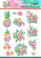 Yvonne Happy Tropics 3D Push Out SB10362 Flowers