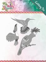 Yvonne Happy Tropics Die YCD10175 Exotic Birds