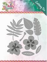 Yvonne Happy Tropics Die YCD10174 Tropical Blooms