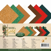 Amy Design Christmas in Gold AD-A5-10060 Linnenkarton