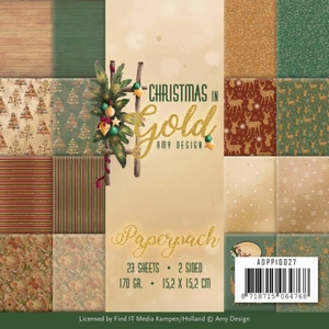 Amy Design Christmas in Gold ADPP10027 Paperpack