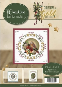 Amy Design Christmas in Gold CB10003 Creative Embroidery 3