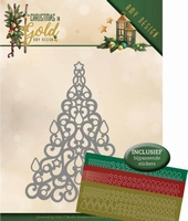 Amy Design Christmas in Gold Die ADD10182 Christmas Tree