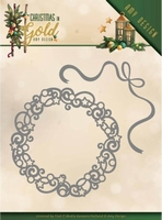 Amy Design Christmas in Gold Die ADD10181 Christmas Wreath