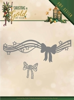 Amy Design Christmas in Gold Die ADD10186 Christmas Bow