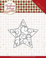 Marieke Warm Christmas Feelings Die PM10163 Swirl Star