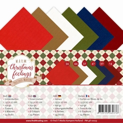 Marieke Warm Christmas Feelings PM-4K-10023 Linnenpakket