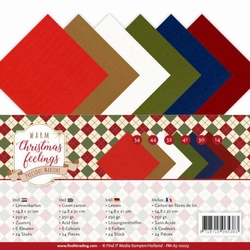 Marieke Warm Christmas Feelings PM-A5-10023 Linnenpakket