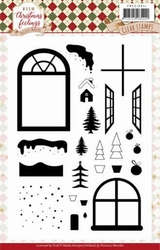 Marieke Warm Christmas Feelings PMCS10041 Clearstamp