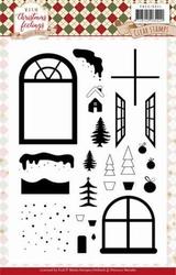 Marieke Warm Christmas Feelings PMCS10041 Clearstamp