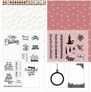 Marieke Warm Christmas Feelings PMMC1002 Mica Sheets