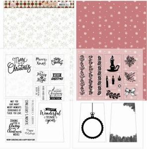 Marieke Warm Christmas Feelings PMMC1002 Mica Sheets