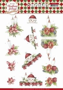 Marieke Warm Christmas Feelings Pushout SB10376 Candles