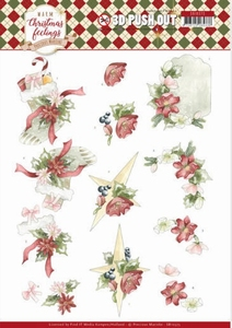 Marieke Warm Christmas Feelings Pushout SB10373 Ornaments
