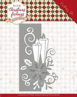 Marieke Warm Christmas Feelings Die PM10159 Candle Edge