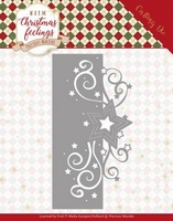 Marieke Warm Christmas Feelings Die PM10160 Swirl Star Edge