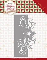 Marieke Warm Christmas Feelings Die PM10160 Swirl Star Edge