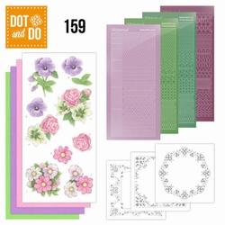 Dot and Do DODO159 Summer Flowers