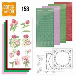 Dot and Do DODO158 Red Flowers