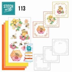 Stitch and Do STDO113 Honey Bees