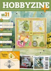 Hobbyzine Plus 31 + 4 gratis knipvellen + JAD10072 Huzzy Bee
