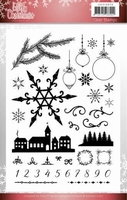 Jeanine's Art Lovely Christmas Clear stamps JACS10029