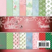Jeanine's Art Lovely Christmas JAPP10012 Paperpack