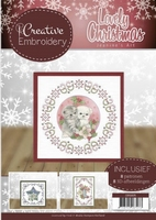 Jeanine's Art Lovely Christmas CB10005 Creative Embroidery 5
