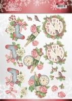 Jeanine's Art Lovely Christmas 3D Knipvel CD11377 Christmas
