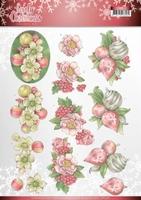 Jeanine's Art Lovely Christmas 3D Knipvel CD11376 Ornaments