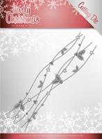 Jeanine's Art Lovely Christmas Dies JAD10078 Border