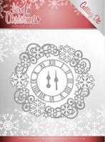 Jeanine's Art Lovely Christmas Dies JAD10080 Clock Frame