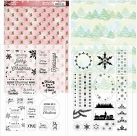 Jeanine's Art Lovely Christmas JAMC1002 Mica Sheets