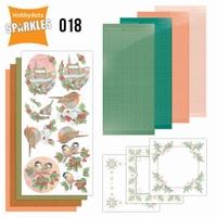 Sparkles SPDO018 Set 18 Lovely Christmas