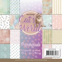 Amy Design Cats World ADPP10029 Paperpack