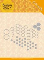 Jeanine's Art Buzzing Bees JAD10074 Hexagon Set