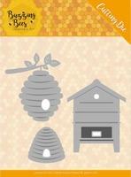 Jeanine's Art Buzzing Bees JAD10075 Beehives