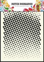 Dutch Doodaboo Dutch Mask Art 470.715.004 stencil faded dots