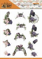 Marieke Nature's Gift 3D Pushout SB10386 Purple Gift
