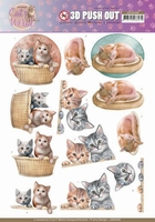 Amy Design Cats World 3D Pushout SB10380 Kittens