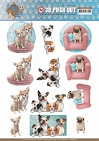 Amy Design Dogs Life 3D Pushout SB10378 All kind of Dogs