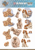 Amy Design Dogs Life 3D Pushout SB10379 Dog Mommy