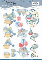Jeanine's Art 3D Knipvel CD11344 Cake Part