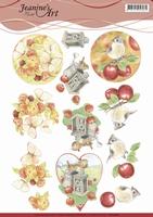 Jeanine's Art 3D Knipvel CD11206 Birds and Butterflies