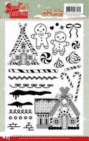 Yvonne Sweet Christmas YCCS10053 Clear Stamps
