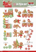 Yvonne Sweet Christmas 3D Push Out SB10396 Cookies