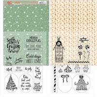 Yvonne Sweet Christmas YCMC1003 Mica Sheets
